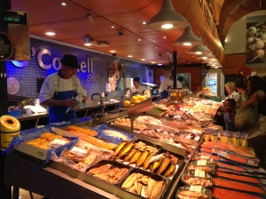 Kay O'Connell's Seafood Stall at The English Market, Cork