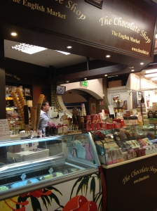 The Chocolate Shop at The English Market, Cork