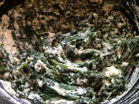 Creamy Ricotta Spinach Filling
