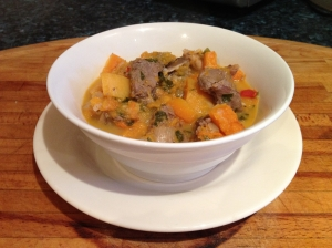 Steak & Squash Curry