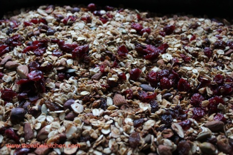 Delicious Batch of Fresh Healthy Granola