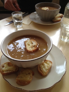 Gwen's French Onion Soup... Heaven!