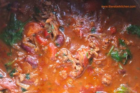 A Molten Pot Of Beautifully Smokey Chilli