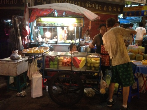 Fresh Fruit Vendor