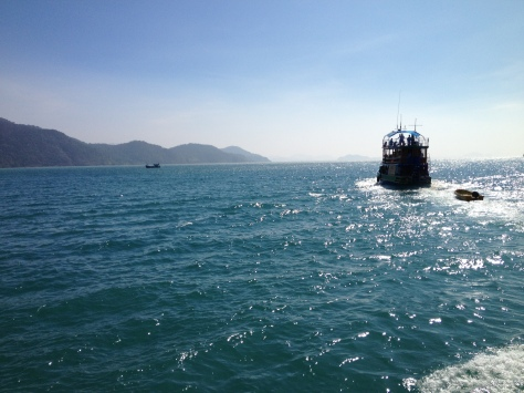 Sailing around Koh Chang