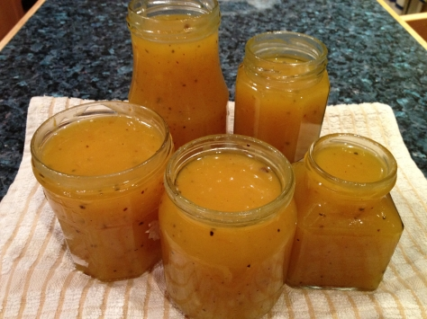 Orange Spiced Curd