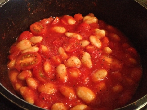 Add Tomatoes, Season and Simmer