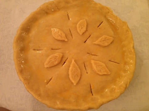 Cover Pie with Pastry