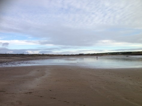 Nice Cloudy Day at Garretstown Beach, Cork