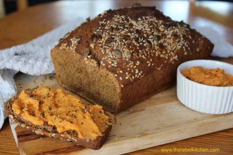 Quick and Easy Wholemeal Spelt Bread