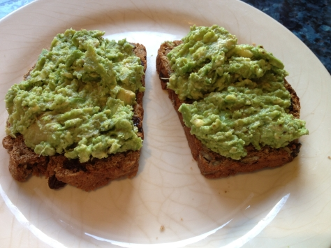 Slather Toast With Avocado Spread