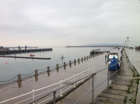 Walking Dun Laoighre Pier