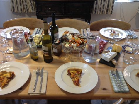 A Hard Day's Work Rewarded With A Delicious Feast