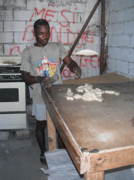 A Local Baker in Port au Prince