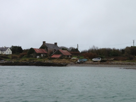 Arriving at Heir Island