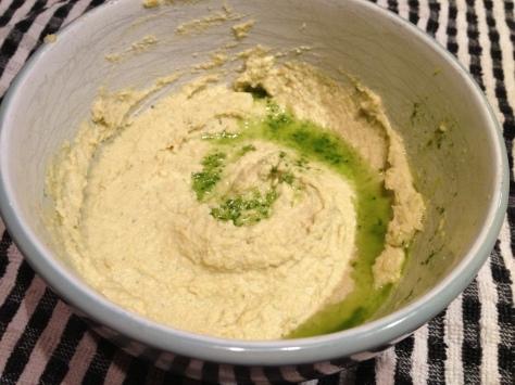Basil Oil Hummus
