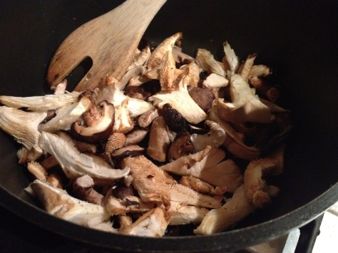 Lightly Fry Your Mushrooms