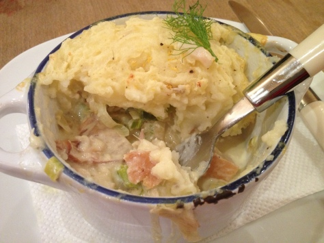 Can't Beat Home Made Fish Pie