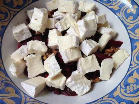 Chop Up Beetroot and Camembert