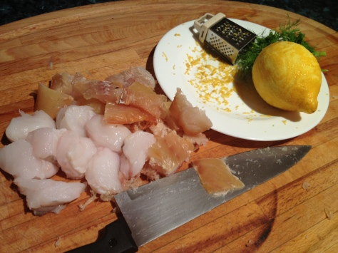 Chop Your Fish Into Chunks