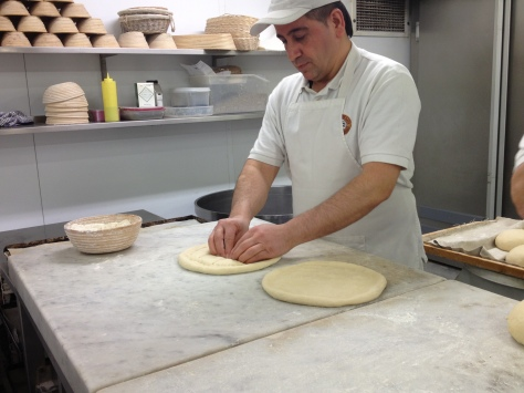 Sukru Showing Us How To Make His Famous Pide Bread