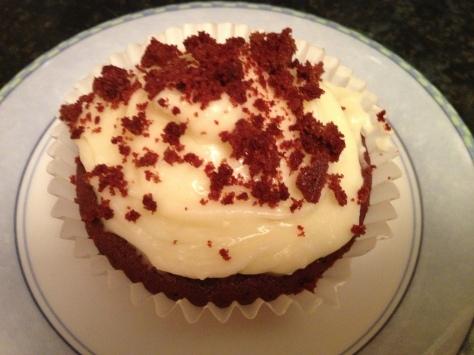 My Red Velvet Cupcakes
