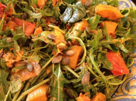 Smoked Paprika Squash Salad