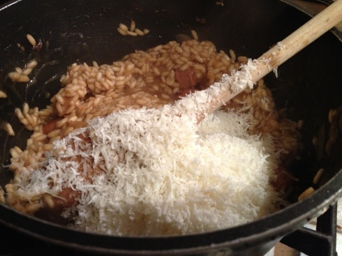 Stir in Parmesan Before Serving