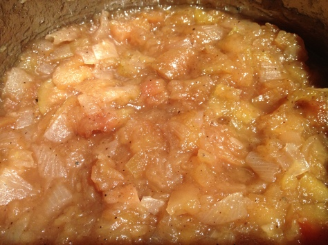 The Apple Relish is Done
