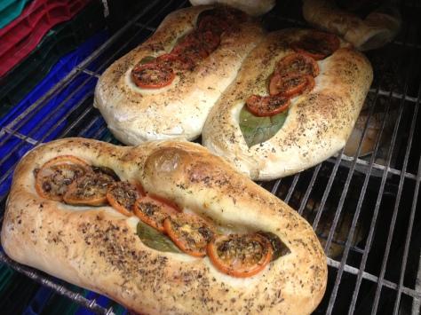 Freshly Baked Herb Bread