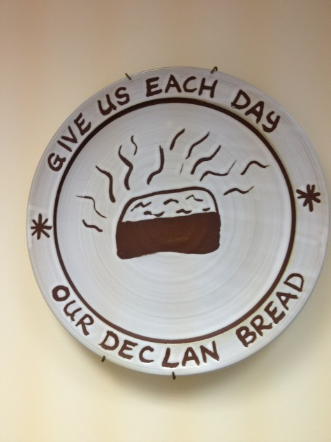 Give Us Each Day our Declan Bread!