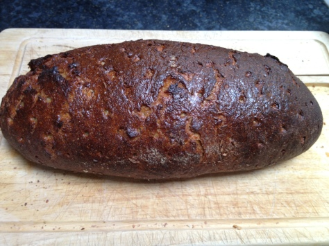 Latvian Sweet and Sour Rye Bread