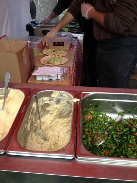 Lebanese Food Stall