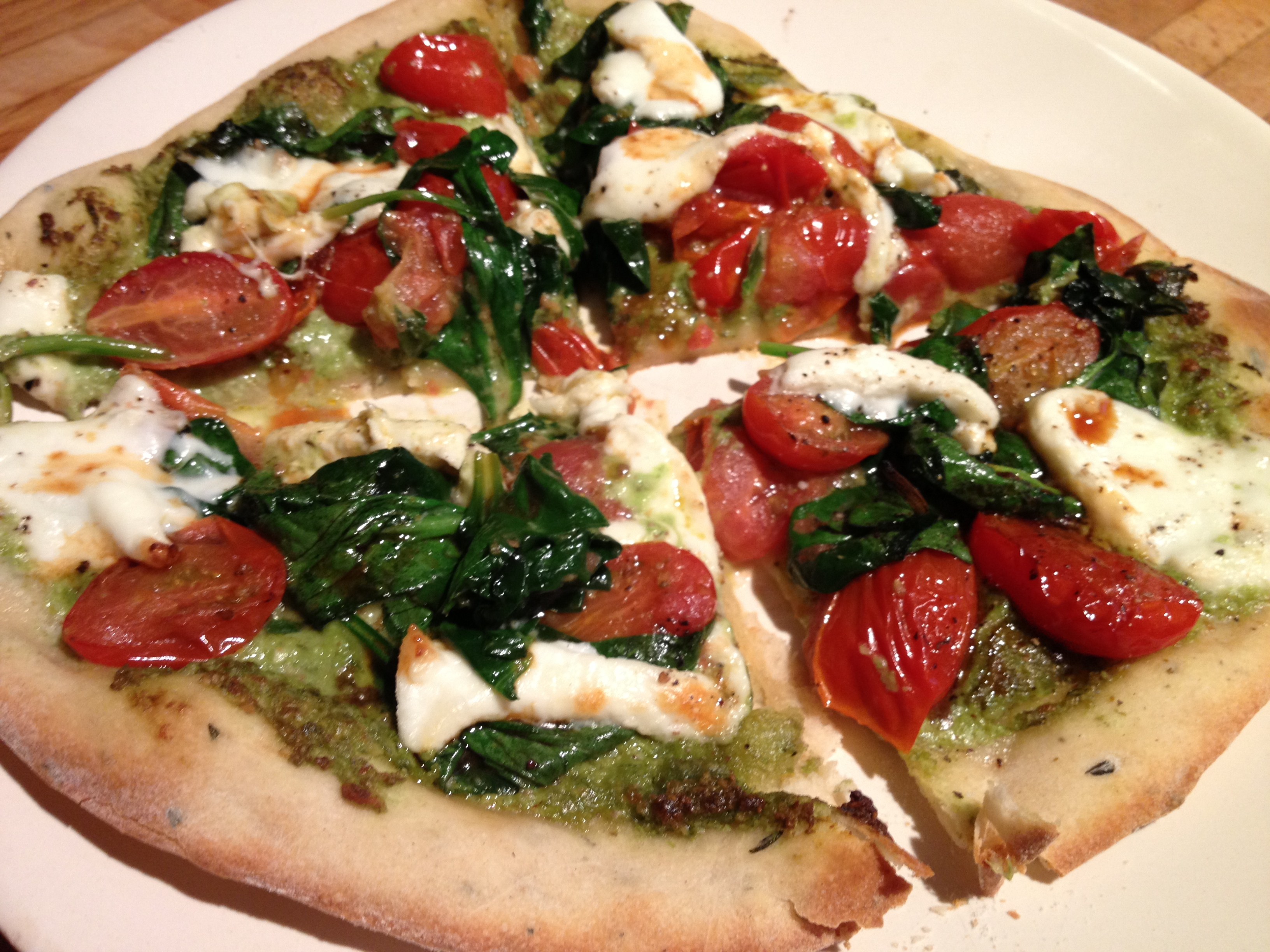 Pesto Pizza | the rebel kitchen