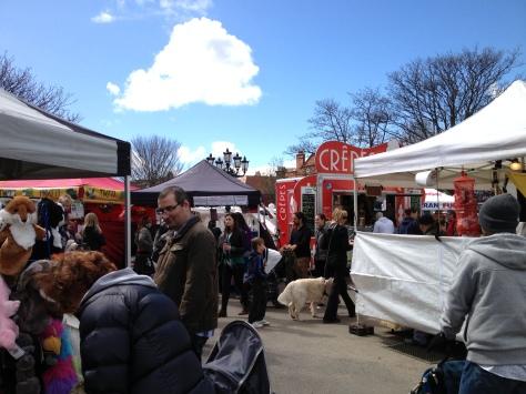 So Many Stalls!