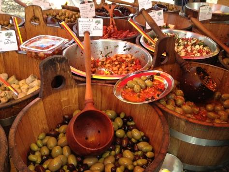 Stocking Up On Olives