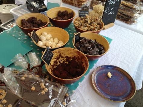 The Truffle Fairy Chocolate Stall