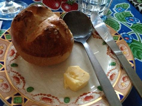 Homemade Carraway Seed Bread Bun