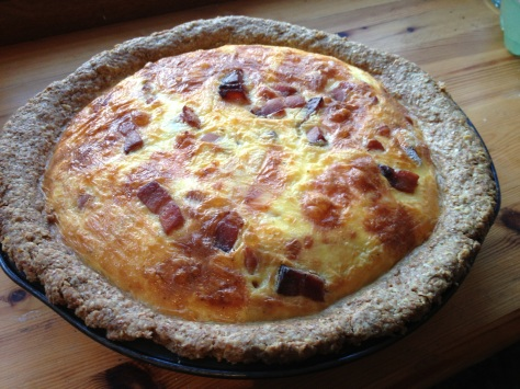 Absolutely Delicious Relblochon and Pancetta Quiche