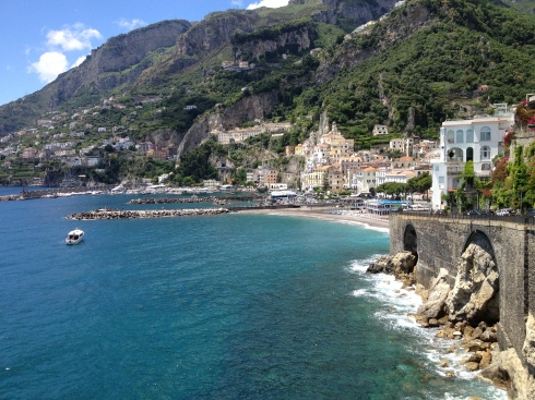 Arriving At Beautiful Amalfi