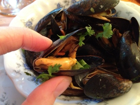 Delicious Fresh Mussles With A Twist