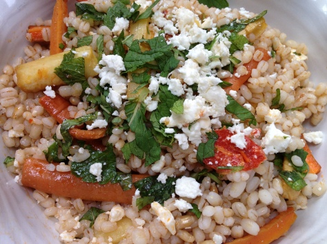 Delicious Honey and Harissa Grain Salad