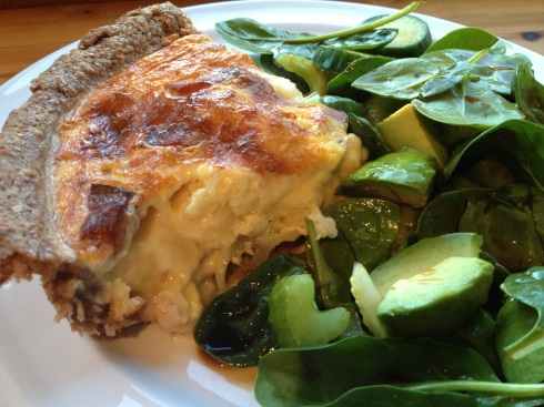 Reblochon and Pancetta Quiche