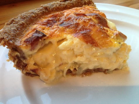 Dreamy Oozy Cheesy Quiche