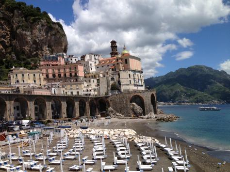 Hiking Through Atrani On Our Way To Amalfi