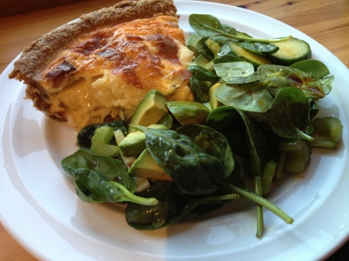 Dreamy Cheesy Quiche