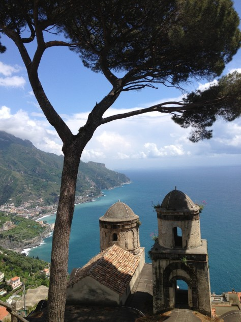 The View From Ravello Town