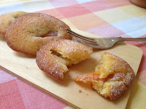 Delicious Apricot Madeleines