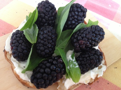 Delicious Flavour Combination of Blackberry and Basil
