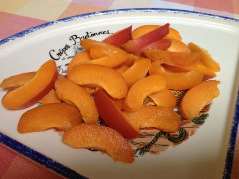 Finely Slice Your Apricots